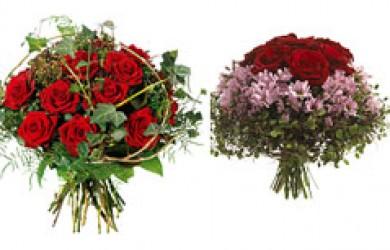 Romantiske blomster til din kæreste