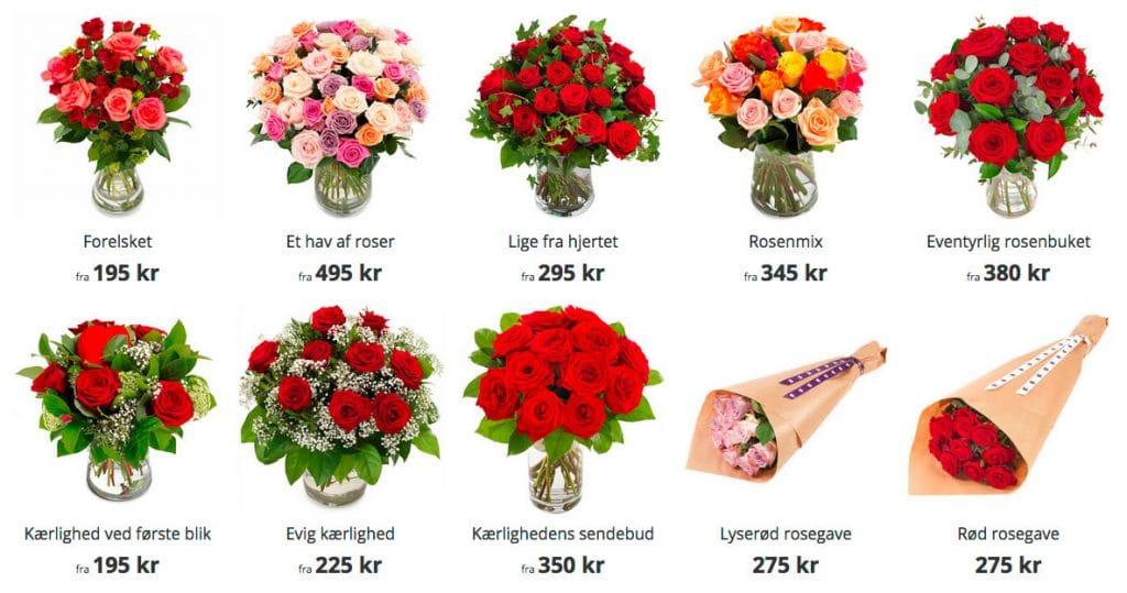 Roser er super romantiske