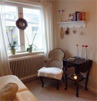 Massage i Frederiksværk - Massagerum med hyggelig stemning