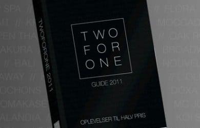 Two For One bog 2011 - København til halv pris