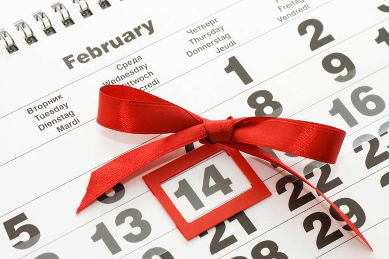 Hvornår er det Valentinsdag