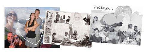 Personlig collage til din kæreste