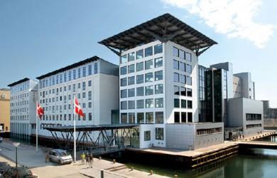 Copenhagen Island hotel ligger i bogstaveligste forstand i Københavns havn