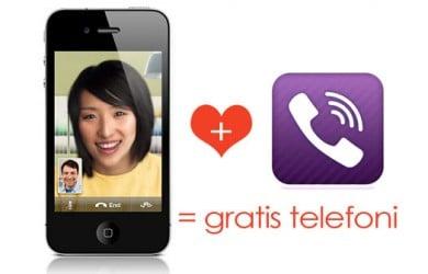 Ring gratis til din kæreste med Viber