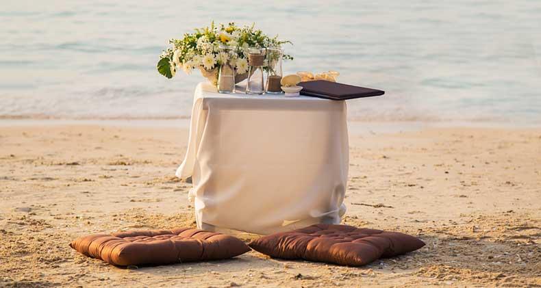 Romantik på stranden