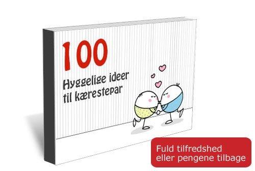 E-bog: 100 hyggelige ideer til kærestepar