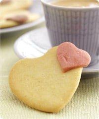 Lækre mørdejshjerter til Valentinsdag