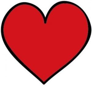 Romantisk hjerte