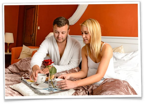 romantisk wellness ophold for 2