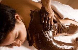 Chokolade massage