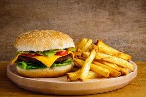 Den bedste burger til manden