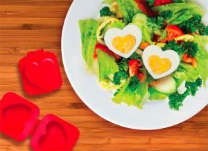 Form der laver æg til hjerter