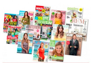 Abonnement på magasiner