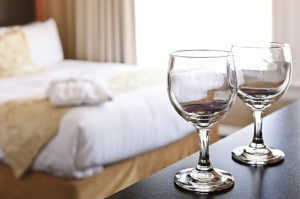 Romantisk ophold på et hotel