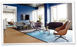 Comwell Aarhus er et nyopført designhotel