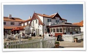 Ruths hotel er perfekt til et romantiske weekendophold i Skagen