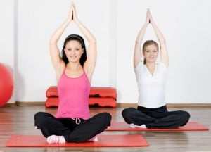 Forær hende yoga i gave