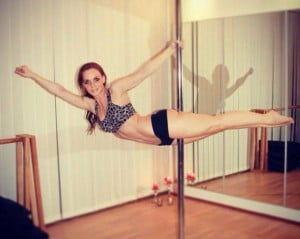 Lektion i Pole Dance