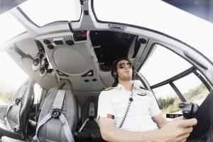 Flyv i helikopter over Århus og København