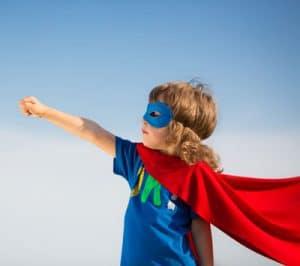 Lad din mand lege Superman - Bodyflight