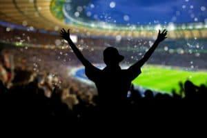 Inviter manden til fodbold i England