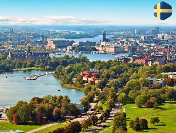 Romantisk weekendophold i Sverige