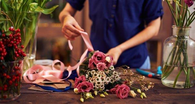 Send smukke blomster til kæresten