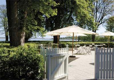 Hotel Frederiksminde ligger ved Præstø Fjord