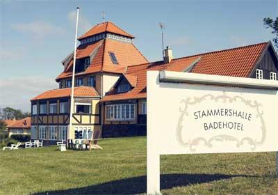 Stammershalle Badehotel på Bornholm er blandt de bedste i Danmark