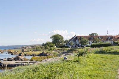 Allinge Badehotel på Bornholm er smukt og idylisk