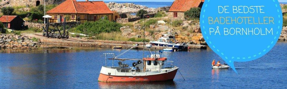 Her er de aller bedste badehoteller på solskinsøen Bornholm