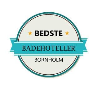 Bedste badehoteller på solskinsøen, Bornholm