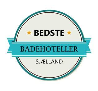 Liste med de aller bedste badehoteller på Sjælland