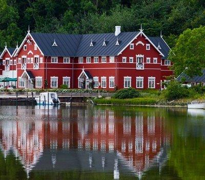 Dyvig Badehotel er et af de smukkeste badehoteller i Sønderjylland
