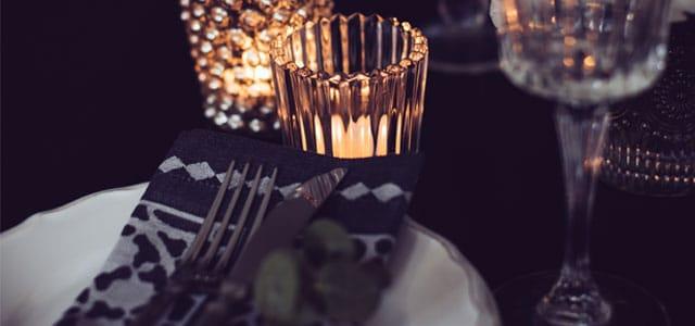 Hyggelig valentine middag