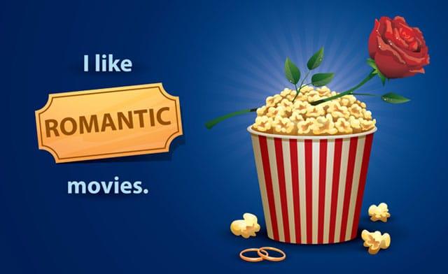 Vi elsker romantiske film