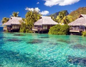 De ideelle hotel på Maldiverne