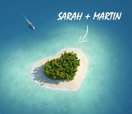 Romantisk Bryllupsrejse til Maldiverne
