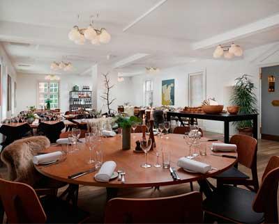 Sinatur Hotel Skarrildhus har en hyggelig og god restaurant