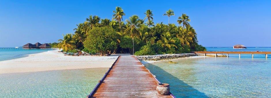 Vejen til Maldiverne kan være lang