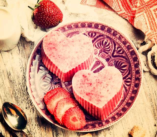 En romantisk dessert til kæresten