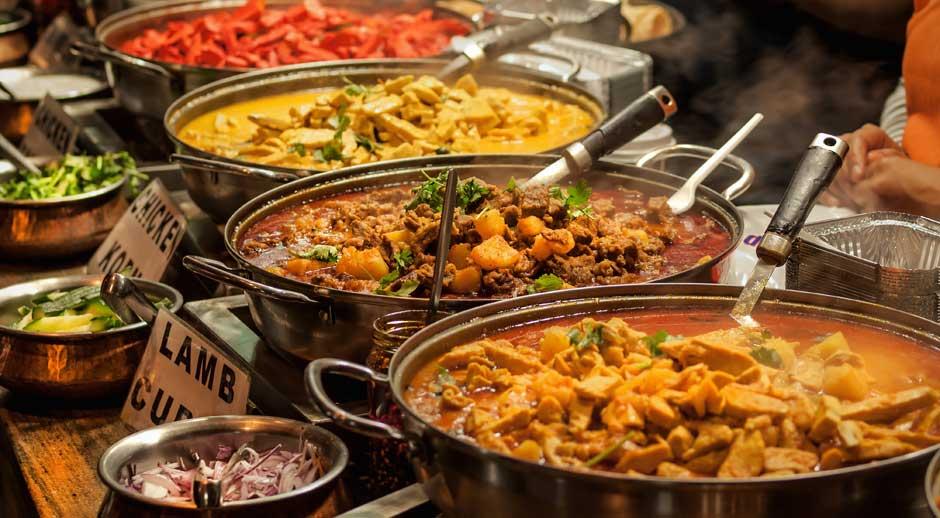 Orientalsk mad i London