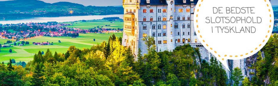 Slotsophold i Tyskland - Nordtyskland