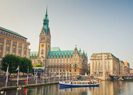 Weekendophold i hyggelige Hamburg