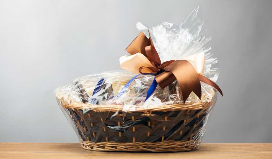 En gavekurv spreder altid glæde