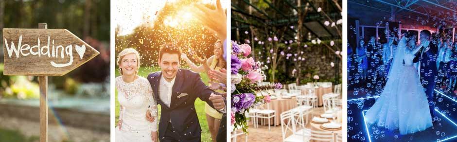 Billeder fra bryllup