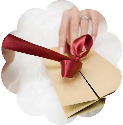 Bryllupsgave til det forelskede brudepar