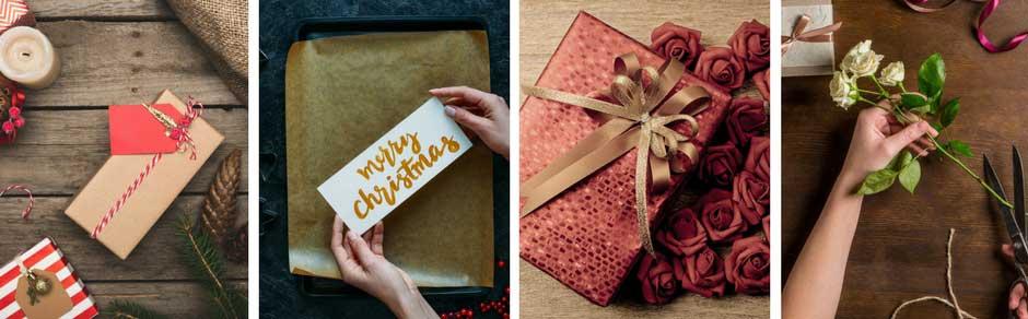 Indpakningen af julegaven er det halve af gaven
