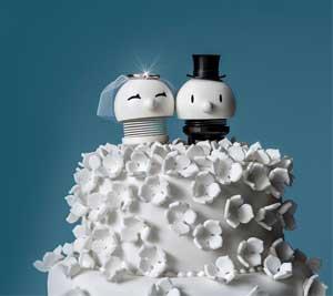 Hoptimist-brud + Hoptimist-gom - Perfekt bryllupsgave