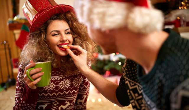 Julehygge med kæresten